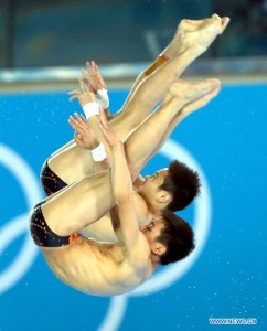 (OLY2012)BRITAIN-LONDON-DIVING-MEN'S SYNCHRONISED 10M PLATFORM-GOLD