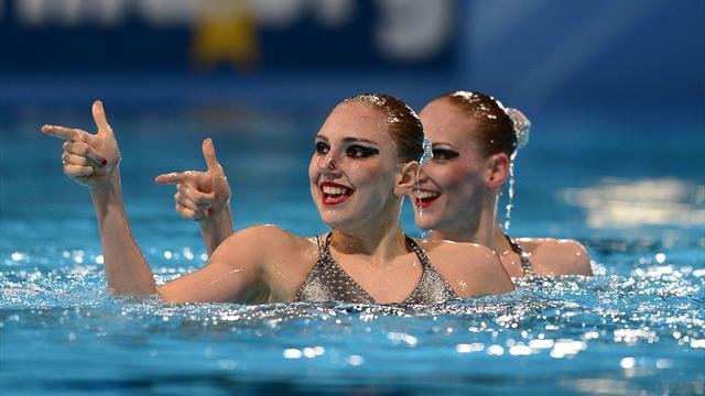 Svetlana Romashina and Svetlana Kolesnichenkong