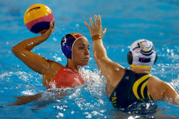 Bcn 2013 Woman S Water Polo Spain Beats Aussie Zwemza