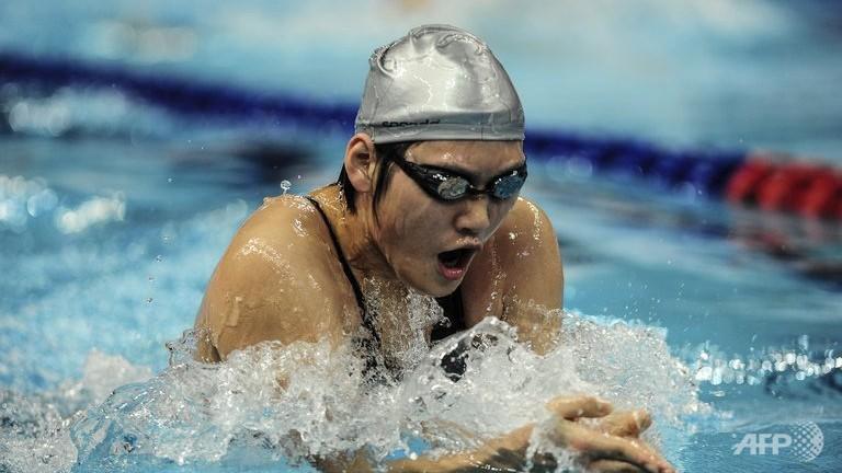 Ye Shiwen. (AFP/File)
