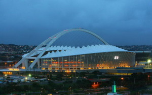 The Moses Mabhida Stadium, built for the 2010 FIFA World Cup will be the centrepiece of the Durban bid for the 2022 Commonwealth Games (AFP/Getty Images)