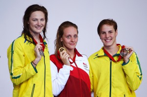 Fran Halsall took 50m freestyle gold to secure her ninth Commonwealth Games medal since her debut at Melbourne 2006. (Getty Images)