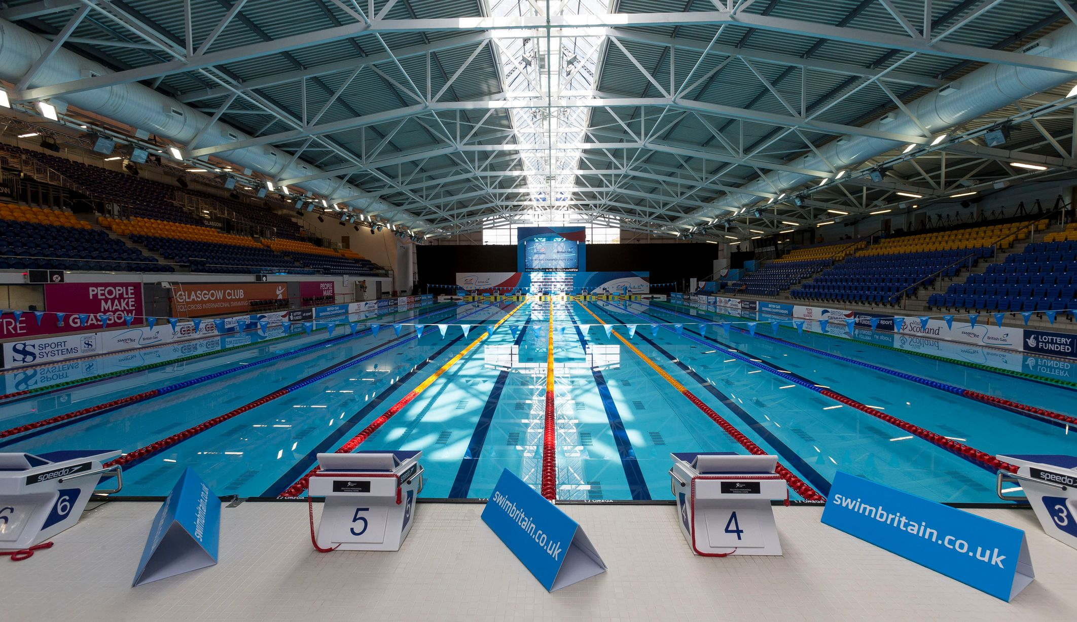 In pictures the glasgow 2014 commonwealth games venues zwemza for Swimming pool west end glasgow