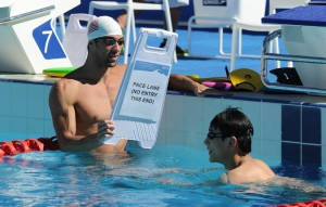 Michael Phelps prepared Tuesday for the Pan Pacific Championships, his first international meet since the 2012 Olympic Games, where he won six medals (European Pressphoto Agency)