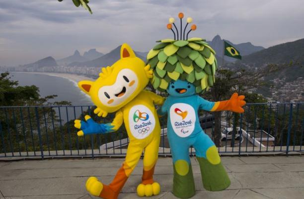 Rio16mascots