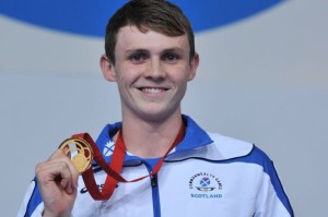 Ross Murdoch, swimming gold medallist and Sports Personality of the Year