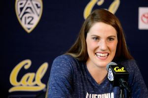As she planned, Missy Franklin is leaving Cal after two years to prepare for the 2016 Olympics, but she is determined to earn her degree. (AP)