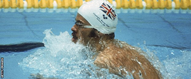 David Wilkie on his way to Olympic gold in 1976 (Getty Images)