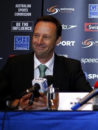 Swimming Australia CEO Mark Anderson.