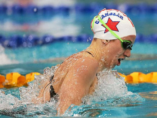 Ellen Fullerton won the women's 200m IM final at the Australian Short Course Swimming Championships on Saturday.(AAP)