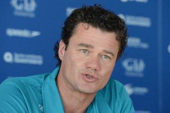 Australian Swimming head coach Jacco Verhaeren. (AAP Image: Dave Hunt)