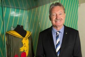 Critical of previous regime ... Swimming Australia president John Bertrand. (AAP: Sam D'Agostino)