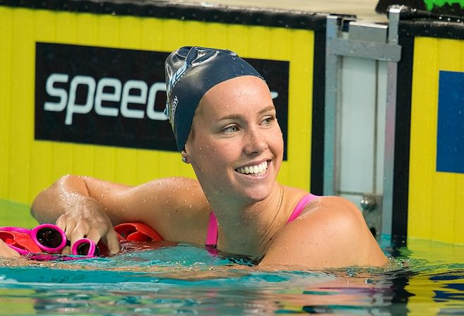 Emma McKeon and her brother David are part of a growing pool of second-generation swimming greats. (AAP)