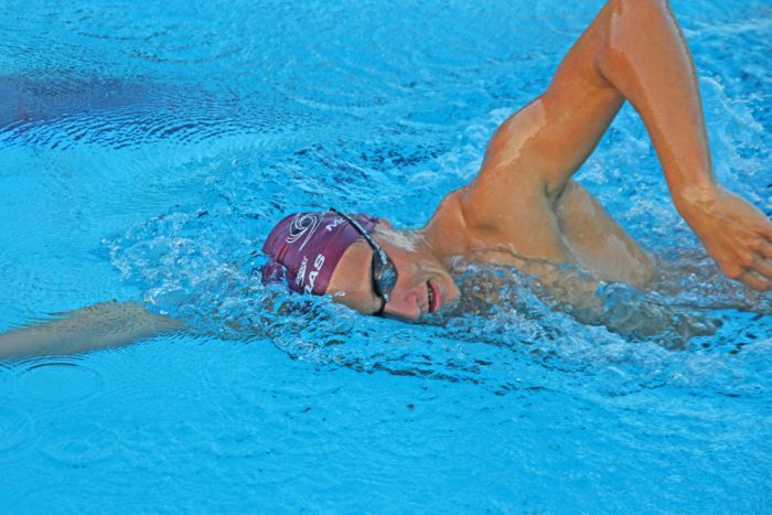 Photo: McEvoy wants to inspire others to follow their passions. (ABC Gold Coast: Damien Larkins)