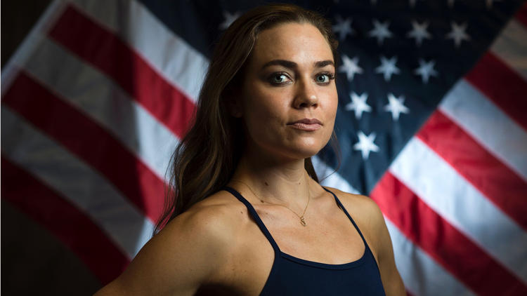 Olympian Natalie Coughlin (AFP / Getty Images)