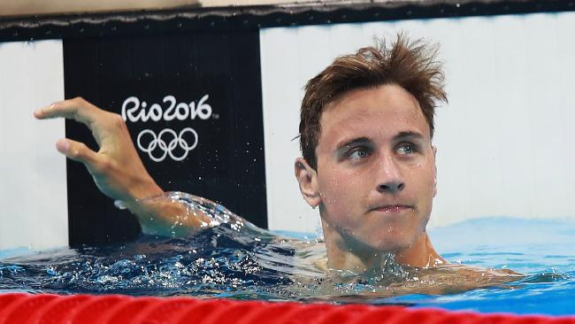 Cameron McEvoy failed to fire for Australia in Rio. (Phil Hillyard)