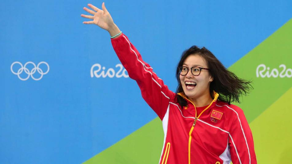 Chinese swimmer Fu Yuanhui wins public's heart for rare candor (NBCOlympics)