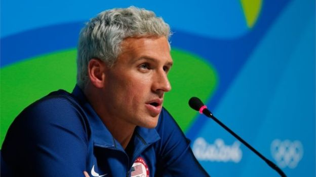 Ryan Lochte said a man robbed him at gunpoint while returning in a taxi to the Olympic village (Getty Images)