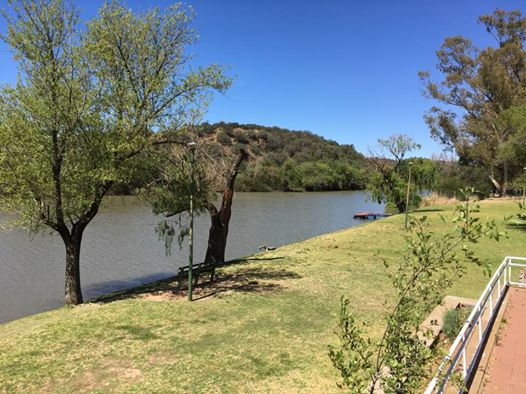 Maselspoort Resort venue for the Open Water Swimming 5km Championship race at the 12th CANA African Senior Swimming Championships (Supplied by LOC)
