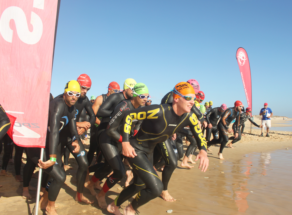 Just under 100 triathletes from around the Eastern Cape took part in Saturday's EP Triathlon Championships hosted by About IT at Pollok Beach in Port Elizabeth (Zsports)