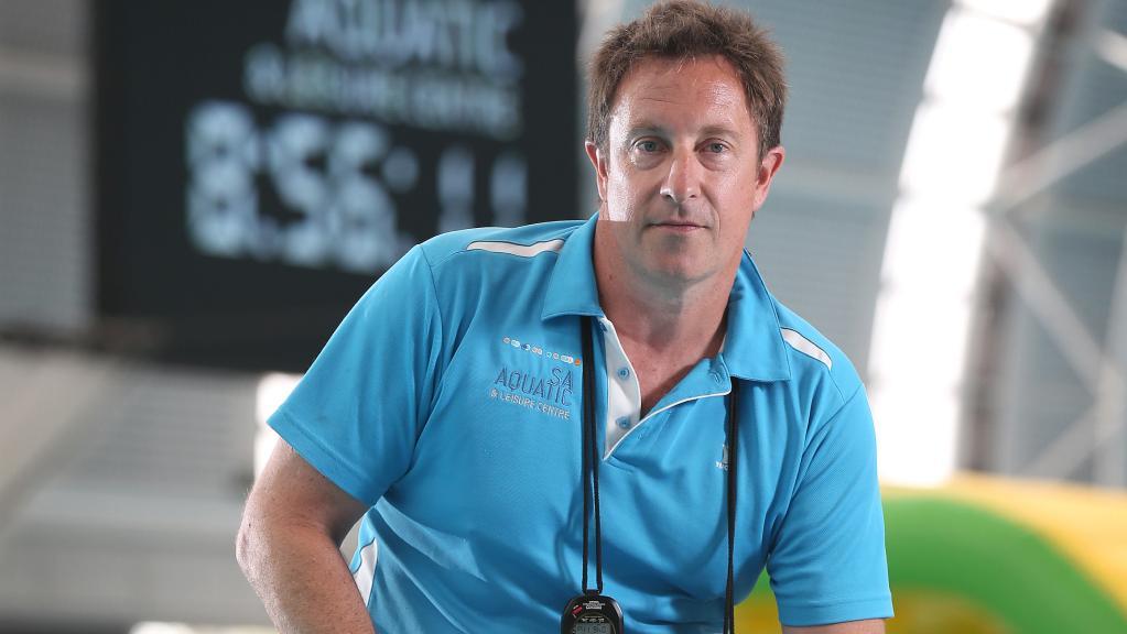 Swimming coach Peter Bishop.(Dean Martin)