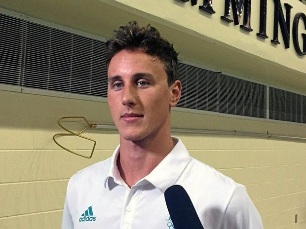 Australian swimmer Cameron McEvoy has big plans for his future once his swimming career comes to an end. PETER MITCHELL