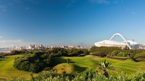 Durban and the Moses Mabhida Stadium. (IOL)