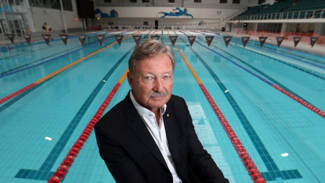 Swimming Australia dives into the 'no more John Coates' camp Swimming Australia president John Bertrand in Melbourne yesterday. Picture: David Geraghty