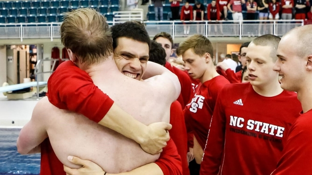The 2017 championships opened with a record-setting performance in the 800-meter free relay.