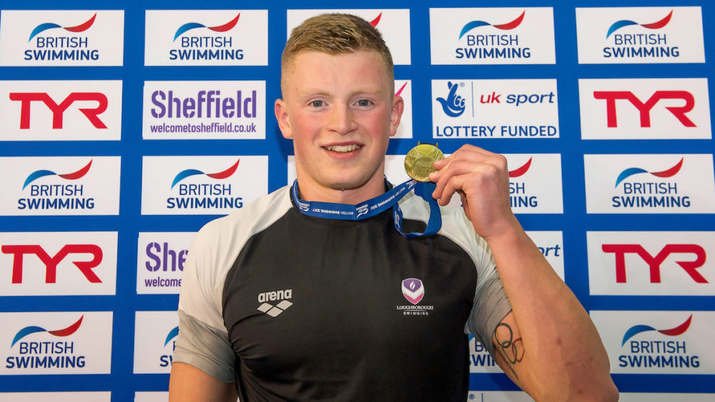 Adam Peaty Powers To Second Gold In Sheffield Zwemza
