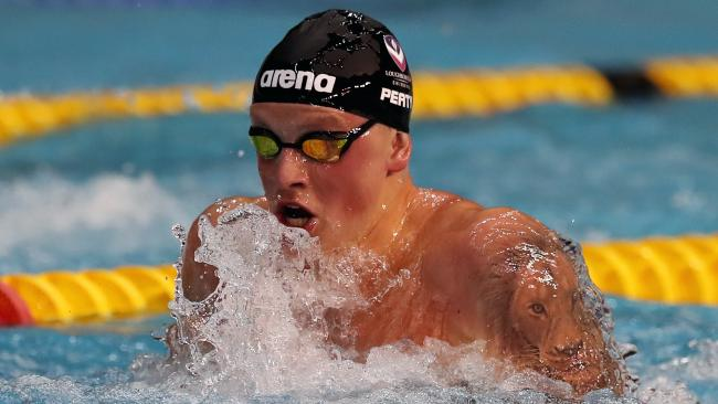 Adam Peaty gives away gold medal after securing World Championship place