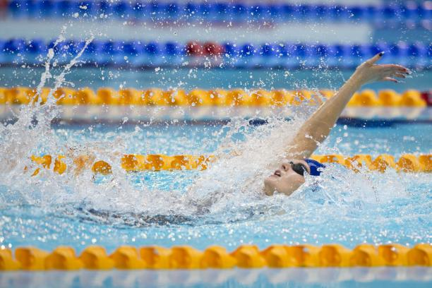 Hannah Russell of Great Britain competes at the 2015 IPC Swimming World Championships in Glasgow, Great Britain. © • Luc Percival Photography.