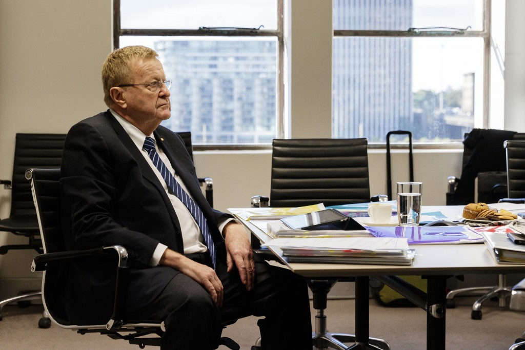 John Coates has issued an apology for comments made in an email about an AOC staff member ©Getty Images