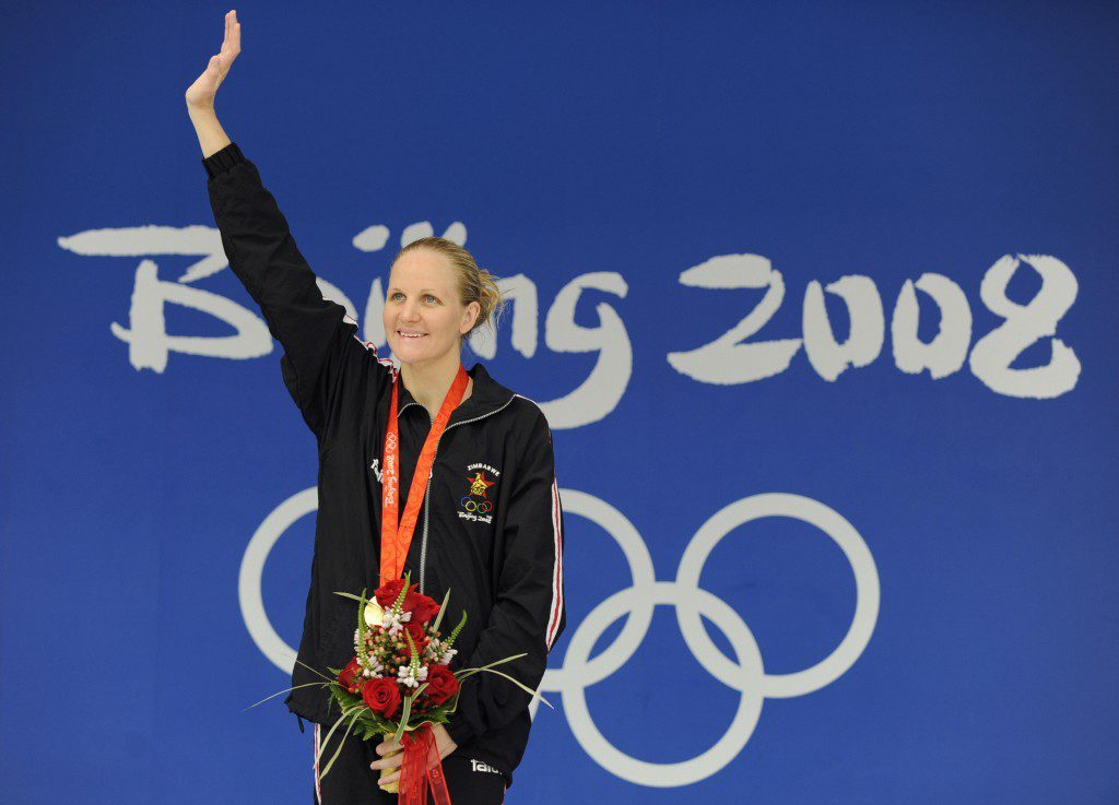 Kirsty Coventry is Zimbabwe's greatest-ever athlete, winning seven of the country's eight Olympic medals, including gold at Beijing and Athens 2004 in the 200m backstroke ©Getty Images