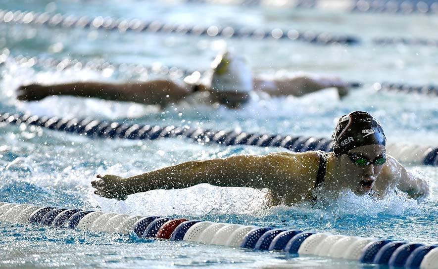 how to swim the 200 free