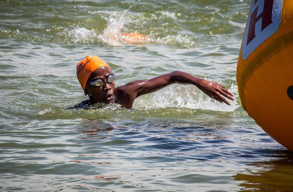 Promising junior athlete Ofenste Lebele from Tuks Swimming has a promising future in swimming (Christine Muller)