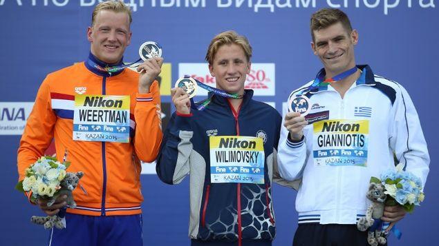 Kazan 10km podium (L-R Weertman-Wilimovsky-Gianniotis) rpctv.com