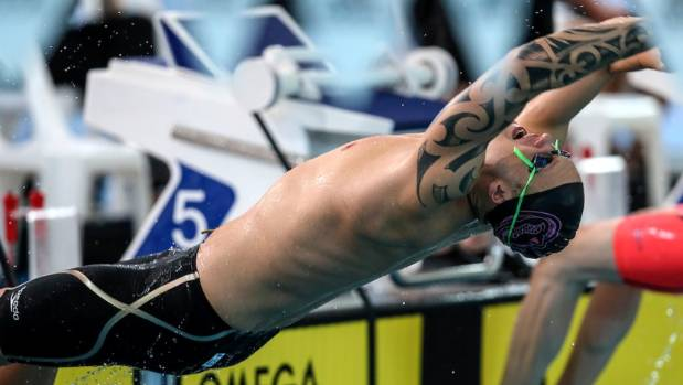 Backstroker Corey Main is a rising star of New Zealand swimming. (Supplied)