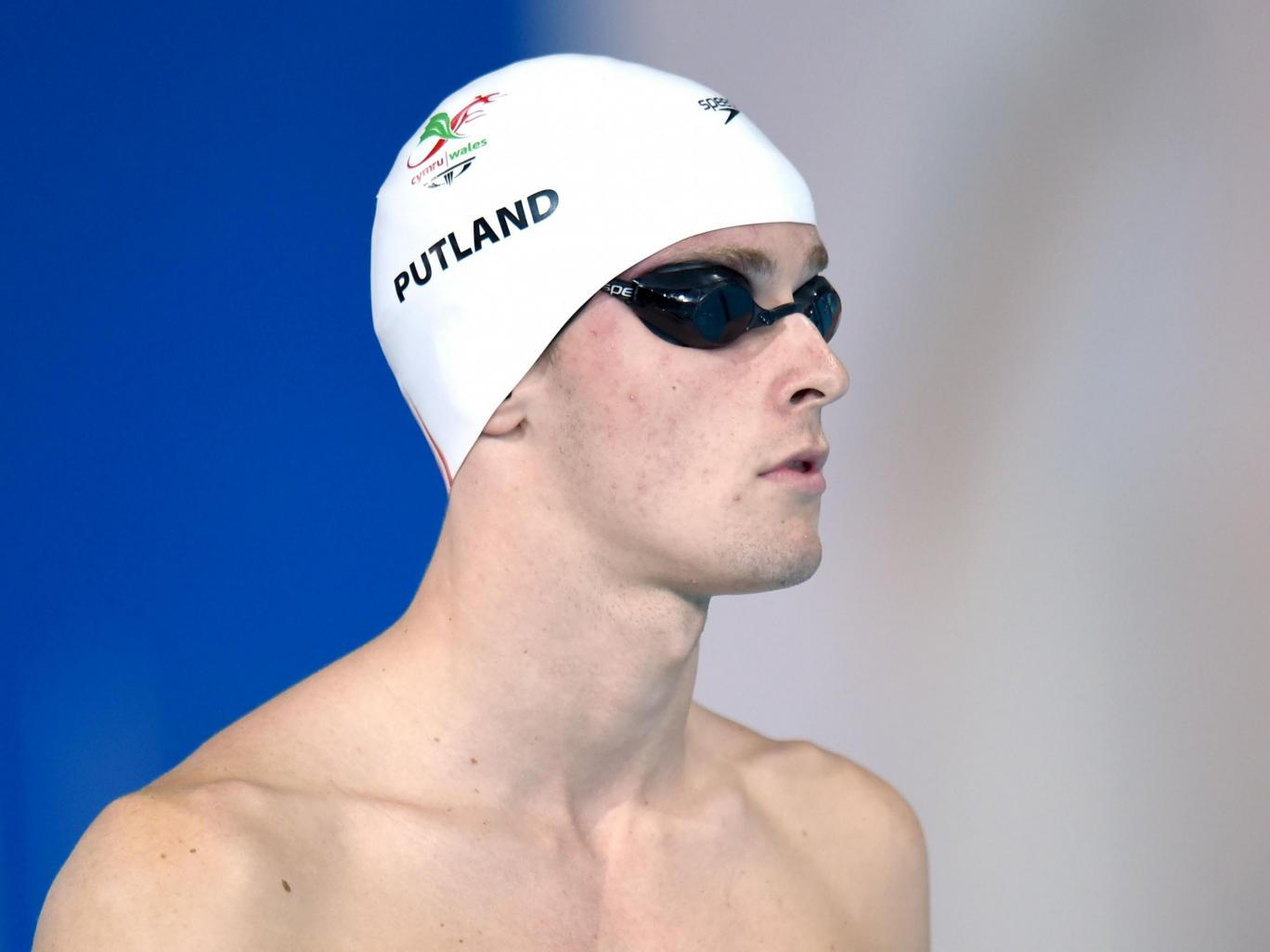 Otto Putland, at the Men's 100m Backstroke during the 2014 Commonwealth Games in Glasgow, allegedly had sex with the girl twice PA Archive/PA Images