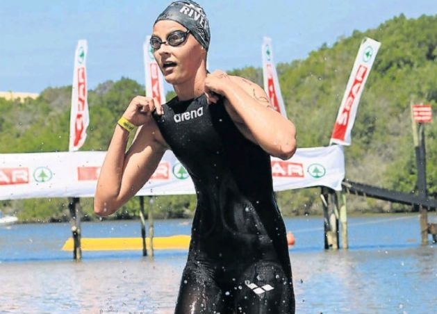 Swimming and lifesaving star Amica de Jager – a matric pupil at Woodridge College – has set her sights in sport high Picture: Supplied