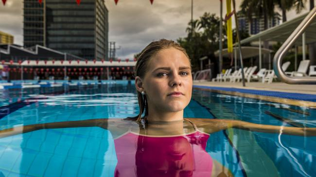Shayna Jack won four medals as part of relay teams at this year's swimming world championships. Picture: Glenn Hunt.Source:News Corp Australia