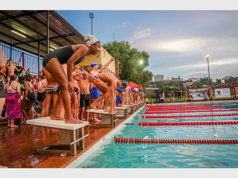 Parktown Boys' High School will once again host a co-ed swimming gala which will see proceeds go to Guild Cottage. Photo: Supplied