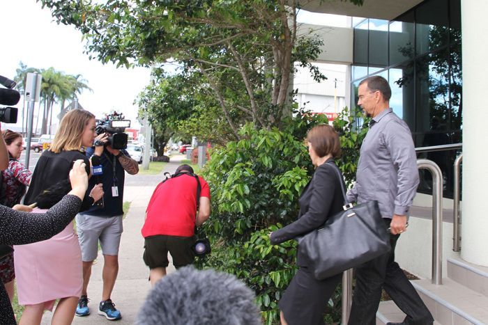 Photo: Mr Volkers appeared in the Maroochydore Magistrates Court this morning. (ABC News: Kylie Bartholomew)