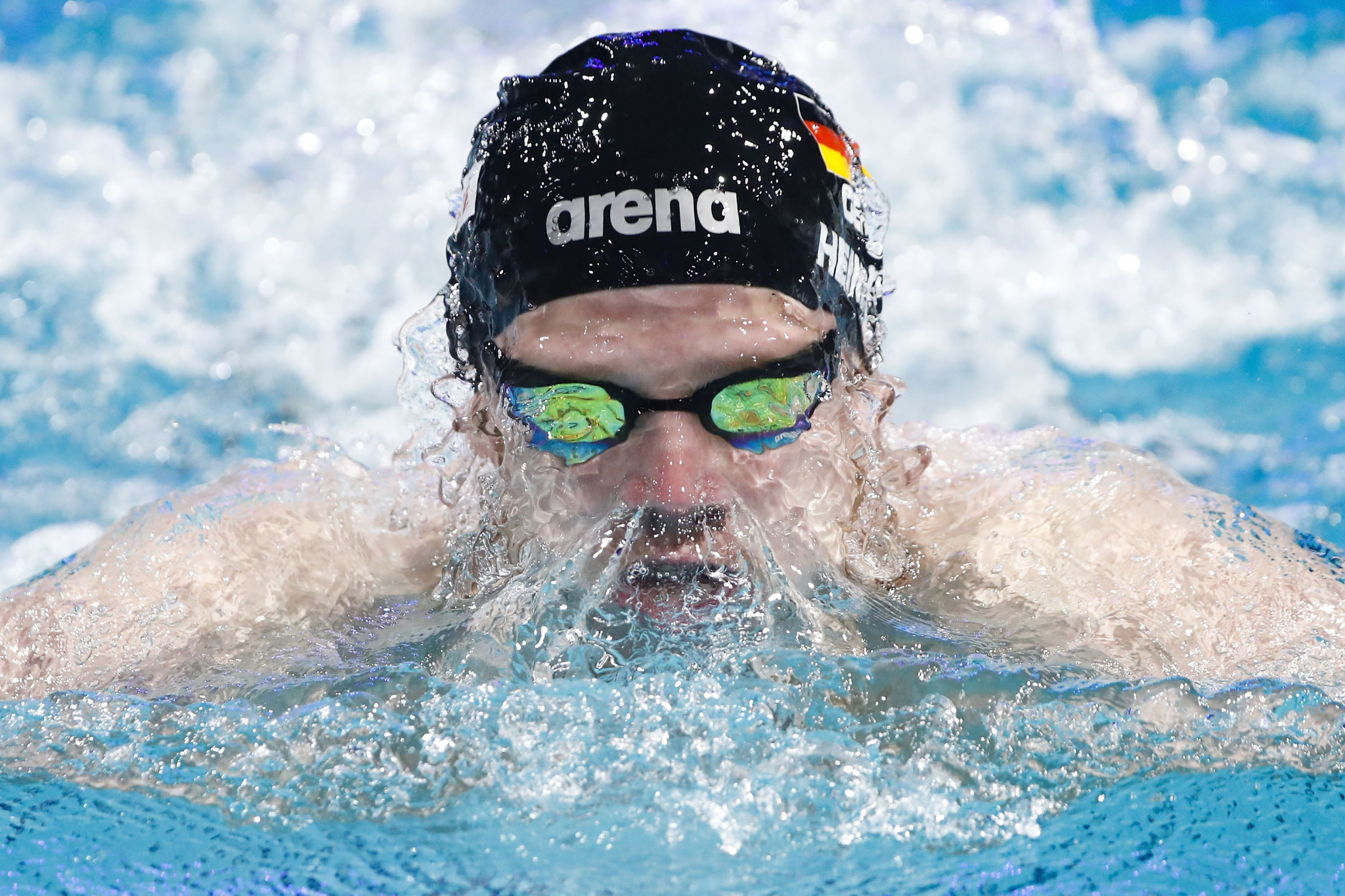 Germany's Philip Heintz topped the men's 200m individual medley podium ©Getty Images