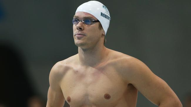 James Roberts at the London Olympics.Source:News Limited