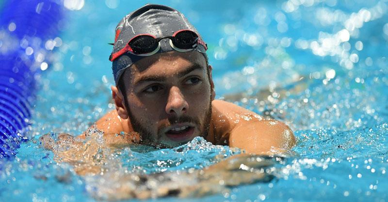 Gian Mattia D'Alberto / lapresse 12-2016 Windsor (Canada) sport 13mi Campionati del mondo di nuoto (25mt) nella foto: Gregorio Paltrinieri,  Behind the scenes, various
